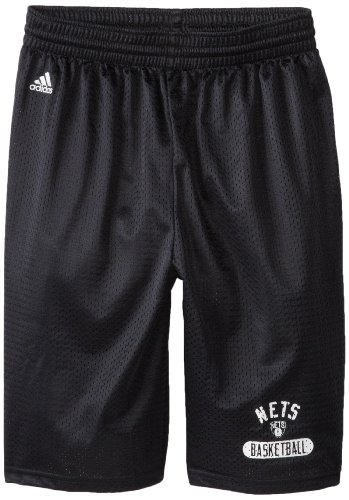 fan products of NBA Brooklyn Nets Men's Venice Beach Basketball Basic Mesh Short,Black,Small