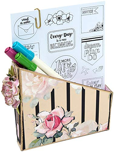 636643 Sizzix ScoreBoards XL Die by Eileen Hull-Card Box, Planner Storage & Organizer