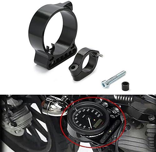 Triclicks Aluminium 39mm Motorrad Cnc Billet Speedo Verlagerung Halterung Für Harley Sportster Xl 883 1200 C N L R 48 Auto