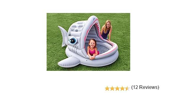 Piscina hinchable bebés tiburón Intex: Amazon.es: Jardín