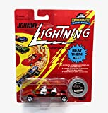Johnny Lightning Triple Threat (Red) Commemoratives Series 4 Limited Edition 1995 Playing Mantis 1:64 Scale Die Cast Vehicle