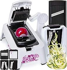 [3in1] Spiralizer Vegetable Slicer