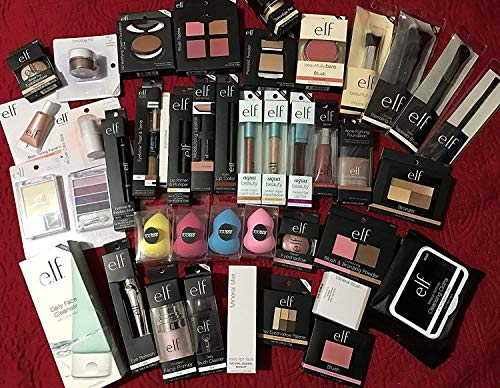 ELF Assorted Mixed Cosmetics No Duplicates (10 - Makeup Assorted