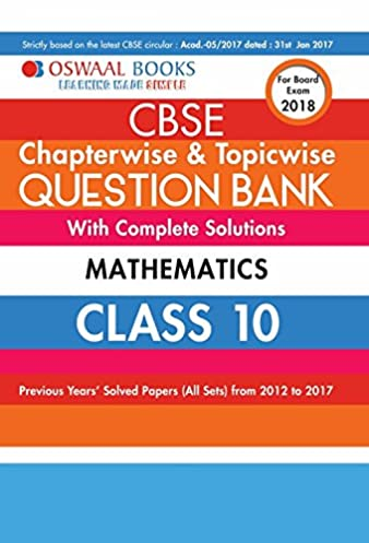 10th cbse math guide ncert solutions for class 9 maths chapter 15 probability array buy oswaal cbse chapterwise topicwise question bank for class 10 rh amazon in fandeluxe Gallery