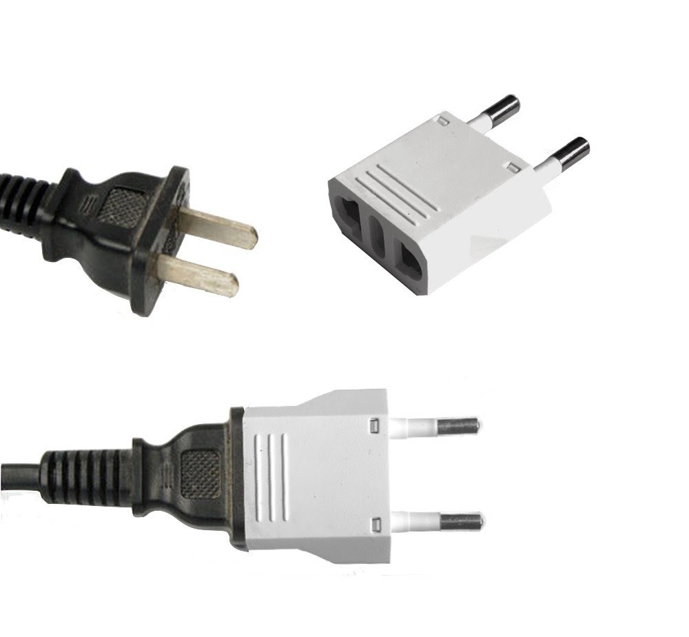 United States to Israel Travel Power Adapter to Connect North American Electrical Plugs to Israeli Outlets for Cell Phones, Tablets, e-Book Readers, and More (6-Pack, White)