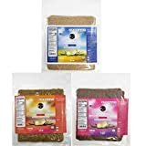 Coco Nori Coconut Wraps Variety Pack - Includes Original, Curry, and Strawberry Flavors
