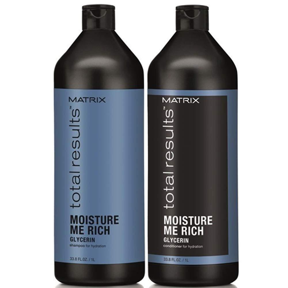 Matrix Kit Total Results Moisture Me Rich Champú 1000 ml + Bálsamo ...