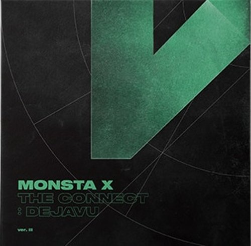 Price comparison product image MONSTA X - THE CONNECT : DEJAVU [III ver.] (6th Mini Album) CD+Booklet+2Photocards+Pre-Order Benefit+Folded Poster+Extra Photocards Set