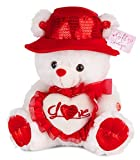 Talking-I-Love-You-Valentine-Bear-with-Red-Hat-15-You-hear-Kissing-Sound-then-Bear-Says-I-Love-You-with-Cute-Voice-When-Its-Paw-Is-Pressed-Valentines-Day-Gifts-by-Gift-Boutique