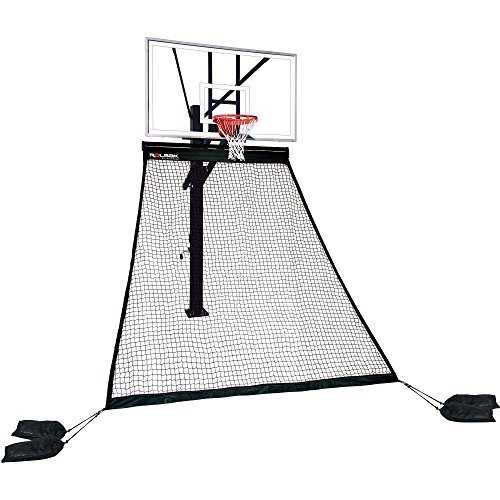 Rolbak Platinum Basketball Return Net with 4 Refillable Water Bags, Webbing Harness, and Nylon Brackets – DiZiSports Store