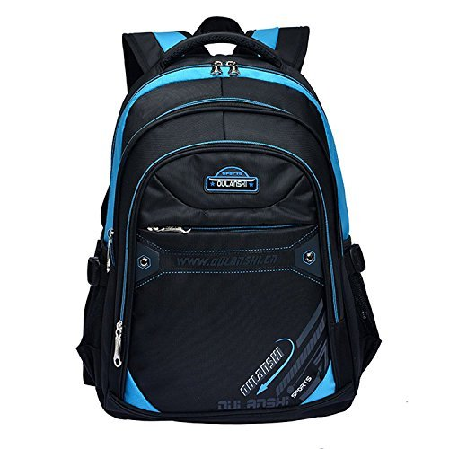 Eshops School Backpacks for Boys Bookbag for Kids Student Backpack Blue