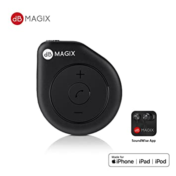 3261d473328 dB MAGIX AC1 MFi Certified Hi-Fi Lightning Headphone Mini Amp (Exceptional  Sound from