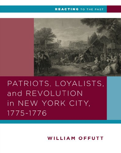 Patriots,Loylists+Revol.In New York...