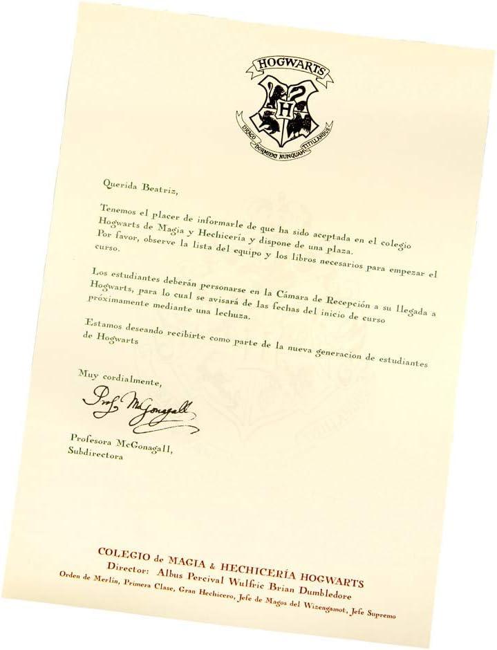 Carta Hogwarts Personalizada Español Harry Potter Productos De Papel Para Oficina Tarjetas Y Cartulinas Westparkcleaners Com