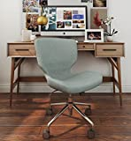 ELLE Décor Madeline Hourglass Task Chair in French Light Gray Review