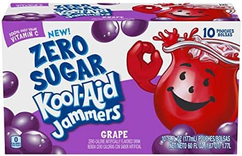 Juice Boxes: Kool Aid Jammers Zero Sugar