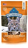 #6: BLUE Wilderness Grain-Free Soft-Moist Cat Treats, Chicken and Turkey, 4 oz