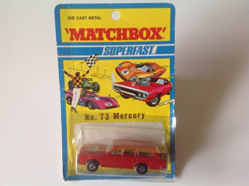 Matchbox Vintage 1971 Superfast Mercury Station Wagon Red No