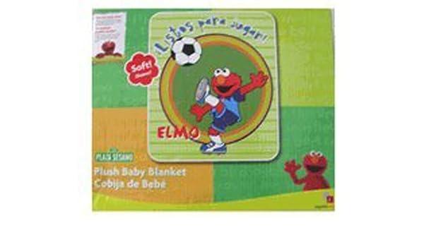 Amazon.com  Sesame Street Elmo Blanket - Plush Baby Blanket  Baby f92c3ac7c