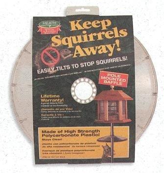 Squirrel Baffle, Adjustable