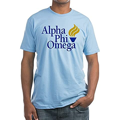 CafePress - Alpha Phi Omega Fraternity Logo - Fitted T-Shirt, Vintage Fit Soft Cotton Tee