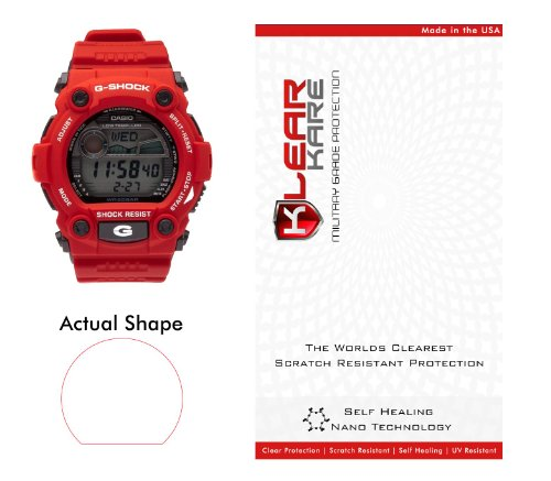 Price comparison product image KlearKare Invisible Screen Shield Protector for Casio G-Shock Watch Bezel | Military Grade Scratch Protection