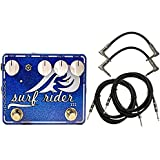 SolidGoldFX Surf Rider Deluxe Pedal III New Version 3 w/ 4 Free Cables