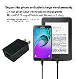 [UL Listed] Fire Tablet Charger,BestPlayer AC Adapter 2A Rapid Charger with Micro-USB Cable for Kindle Fire HD,HDX 6 7 8.9 9.7,Fire 7 8 10 Tablet&Kids Edition, All New Fire, Echo Dot, Paperwhite