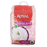 Kusha Royal Thai Hom Mali White Jasmine Rice, 25 Pound