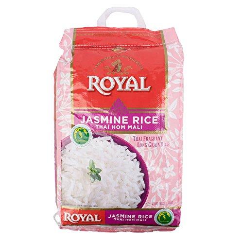 Kusha Royal Thai Hom Mali White Jasmine Rice, 25 Pound by Kusha
