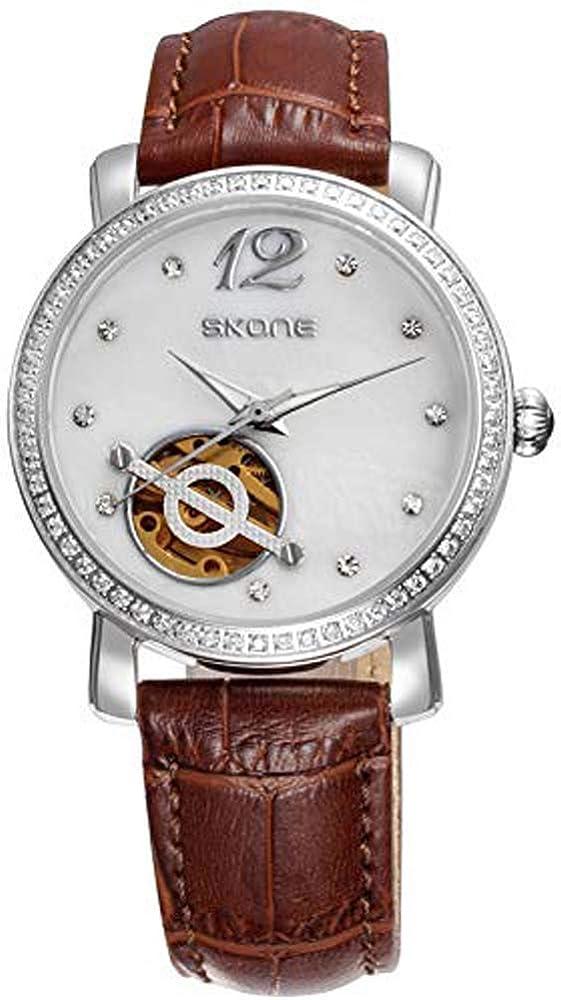 Relojes Reloj De Mujer Reloj De Zafiro Mecánico De Marca