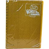 Monster Protectors 9 Pocket Gold Binder - Holds 360 Yugioh, Magic, and Pokemon Cards