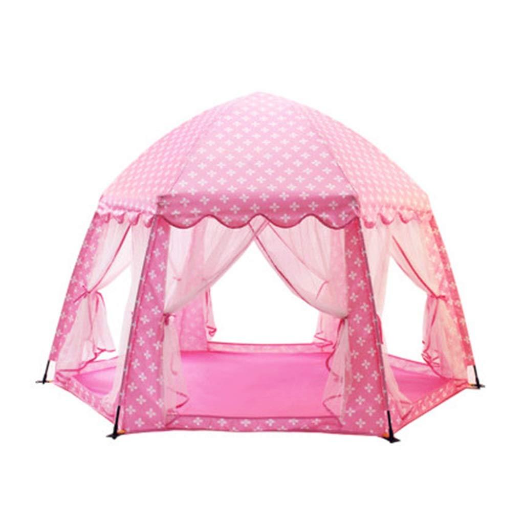 子供用のテント室内のピンクの城王女のゲームハウス室内のおもちゃの家屋外の演劇のテント青い演劇の家子供のための最高の贈り物 キッズテント (Color Size : Pink, : Size : Pink 177x177x110cm) 177x177x110cm Pink B07PGFMZQJ, 宇治田原町:2860abeb --- rigg.is