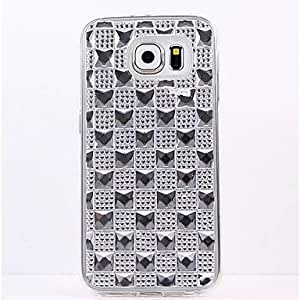 HJZ TPU Gem Diamond Following From Appearance for Samsung Galaxy S6 (Assorted Colors) , Golden