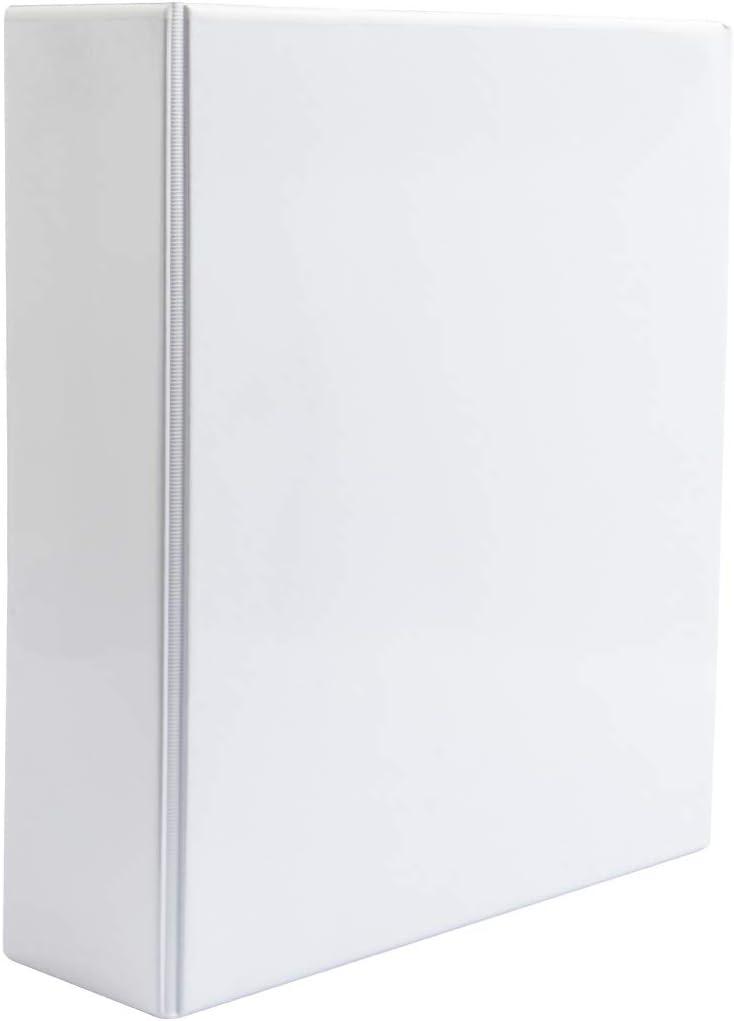 Carpeta Tipo Canguro de 2 Anillas Grosor 55mm Color Blanco: Amazon ...