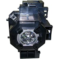 Epson ELPLP33 Replacement Lamp w/Housing 4,000 Hour Life & 1 Year Warranty
