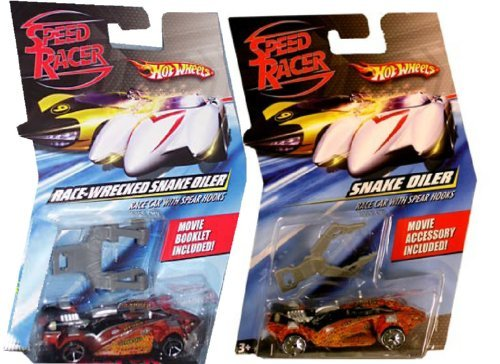 Speed Racer: Snake Oiler Race Car & Race-Wrecked (set of 2) ()
