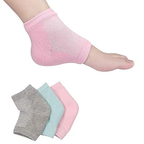 Dry Cracked Heels, Open Toe Socks