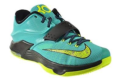 """Nike KD VII """"Uprising"""" Men's Shoes Hyper Jade/Volt-Black-Photo Blue 653996-370"""