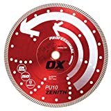 OX Tools 14'' Universal Superfast Diamond Blade | 1 - 20mm Bore