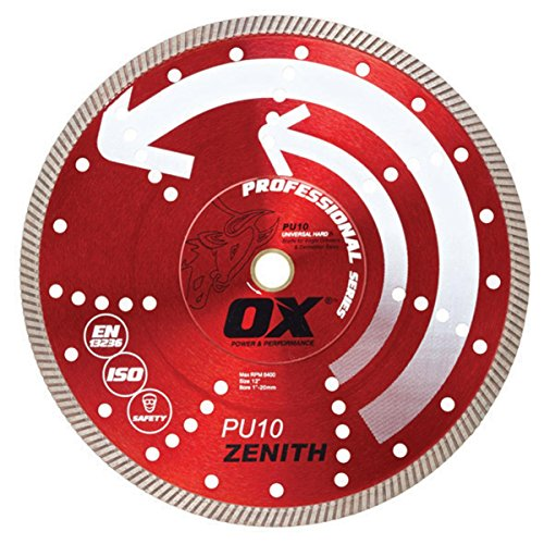 OX Tools 14'' Universal Superfast Diamond Blade | 1 - 20mm Bore by OX Tools