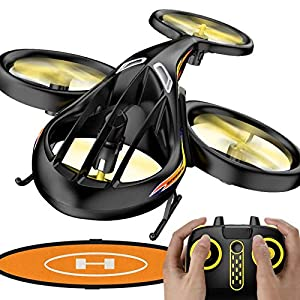 KELEQI Remote Control Helicopter, RC Helicopter Toys with Altitude Hold, 2.4Ghz RC Plane with Gyro, Flying Drone with…