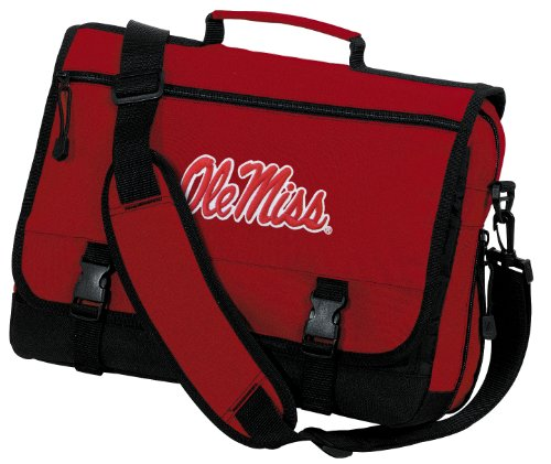 Broad Bay University of Mississippi Laptop Bag Ole Miss Messenger Bag or Computer Bag by Broad Bay