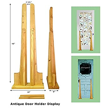 New Antique Door Display Stand With Wooden Natural Finish: Amazon.co.uk:  Kitchen U0026 Home