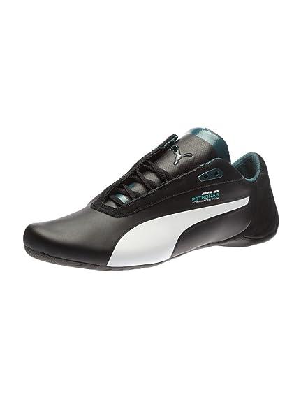 Puma Men s MAMGP Future Cat S2 Black Leather Sneakers - 12 UK India ... 2b3746d15