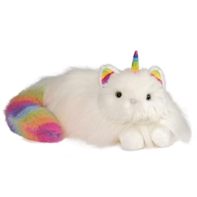 Douglas Ziggy Caticorn Cat Unicorn Fuzzle Plush Stuffed Animal: Toys & Games