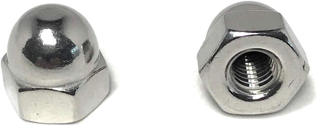 10 #4-40 Acorn Cap Nuts 18-8 Stainless Steel