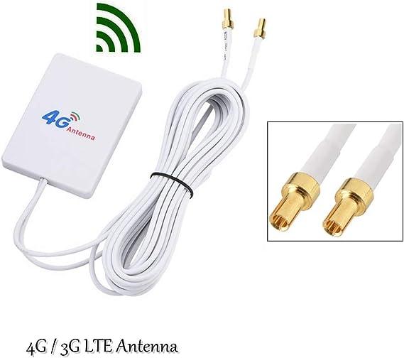 50W Double TS-9 28DBI Broadband LTE Antenna Network Signal Amplifier WIFI 4G//3G