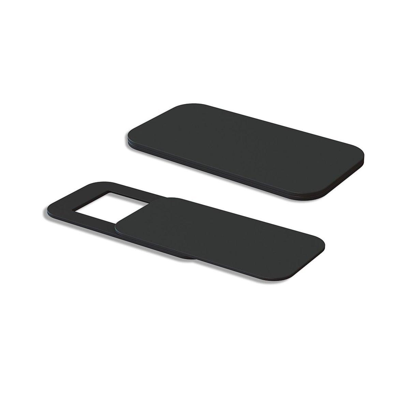 Negro ngzhongtu T10 3PCS Rectangle Plastic Webcam Cover Ultra-Thin Privacy Protector Camera Shutter Sticker para tel/éfono Tableta port/átil de Escritorio