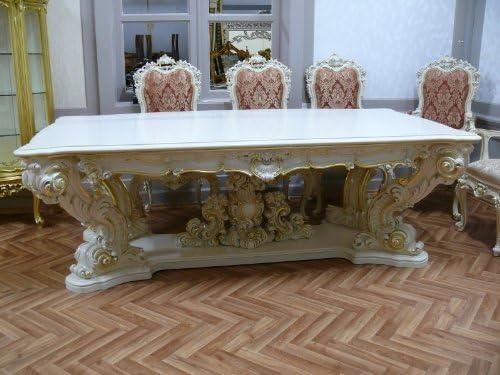 LouisXV Barroco panel de mesa de comedor barroco rococó Vp9975/24 ...